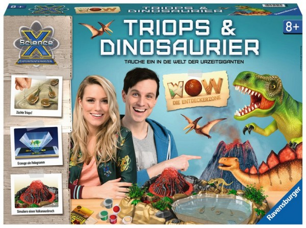 ScienceX WOW Triops & Dinosaurier