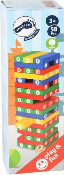Stapelspaß Zahlenturm